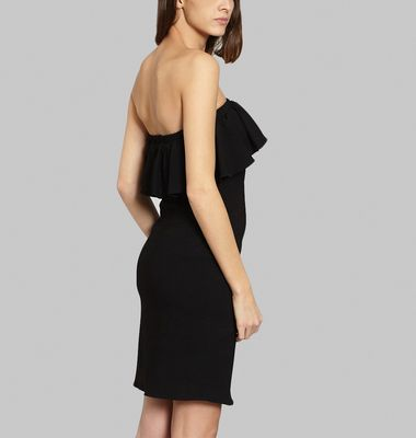 Fluid Crepe with frill
