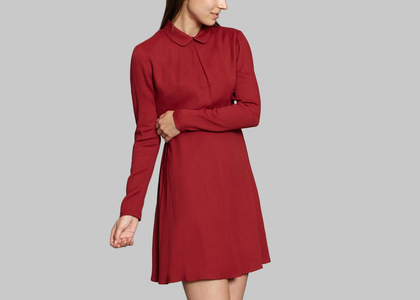 Peter Pan Collar Dress - Sonia By