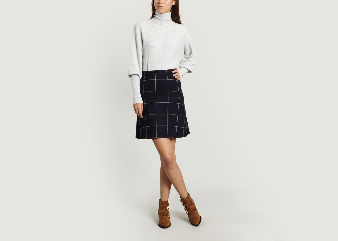 Tartan Mini Skirt - Sonia By