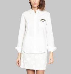 I am Parisian Poplin Shirt