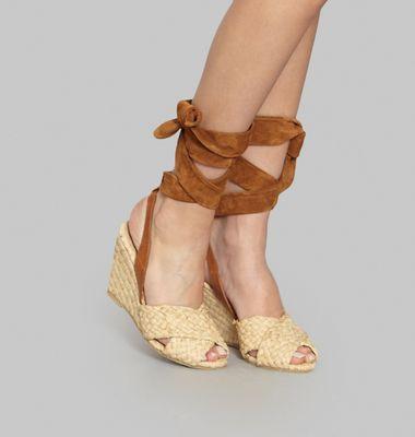 Sandales Paille