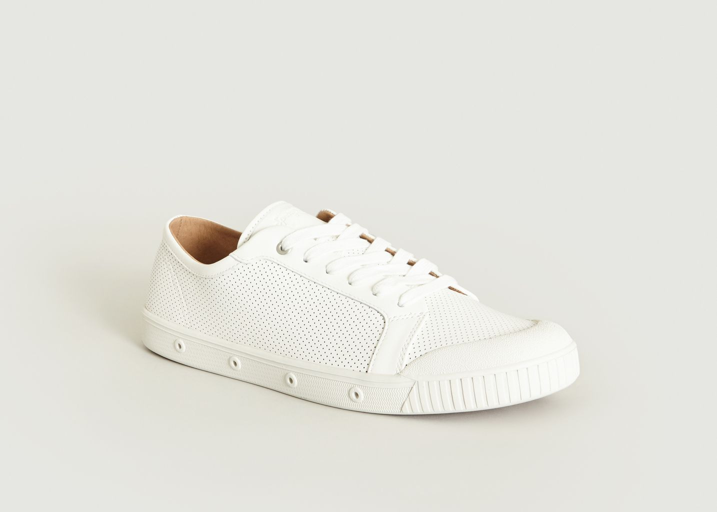 6966c271c5a1 G2 Punched Nappa Trainers White Spring Court