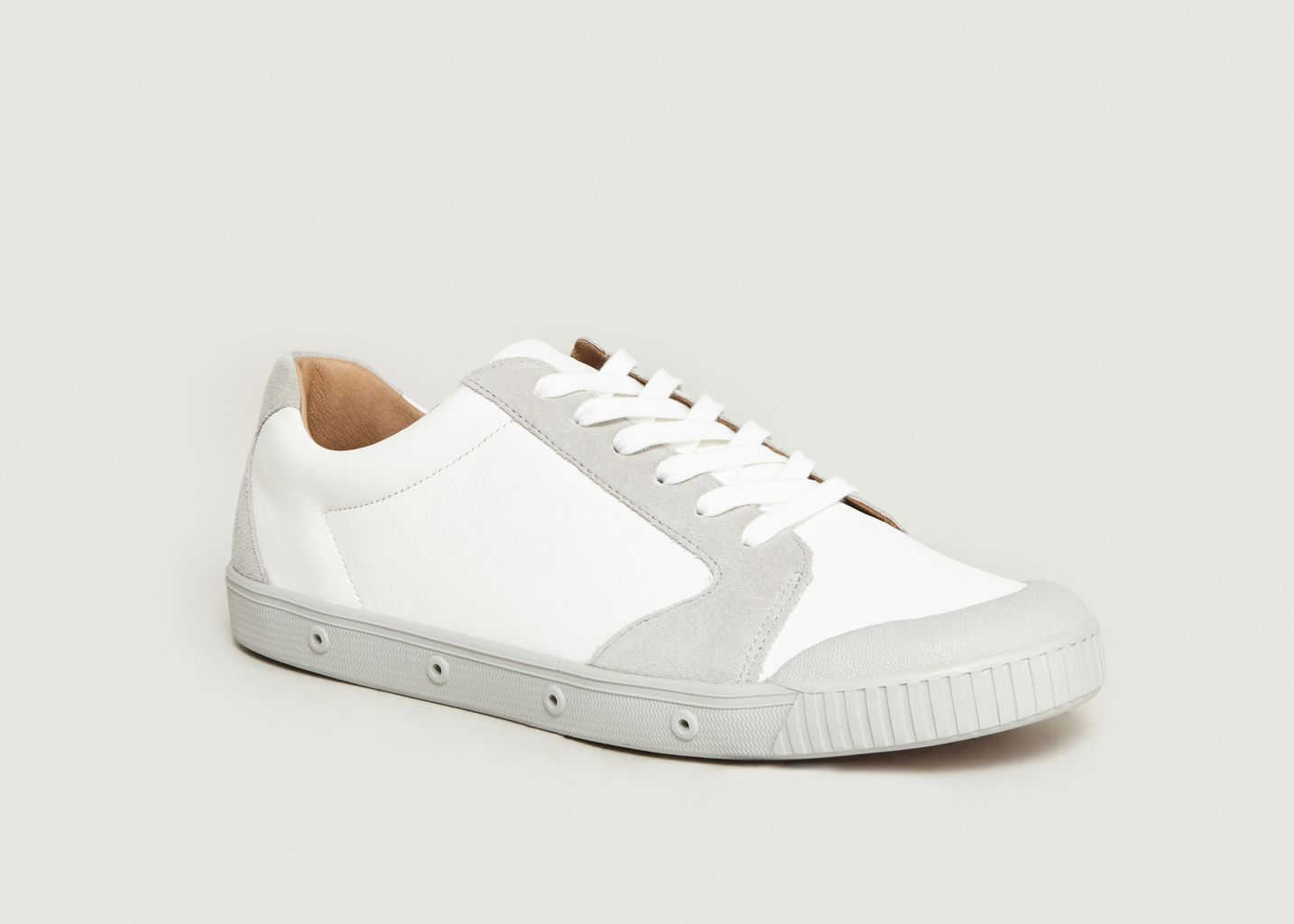Sneakers Clay Bimatière Blanc Spring Court | L'Exception