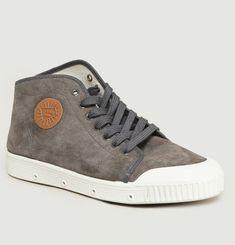 Sneakers Montante B2 En Suede