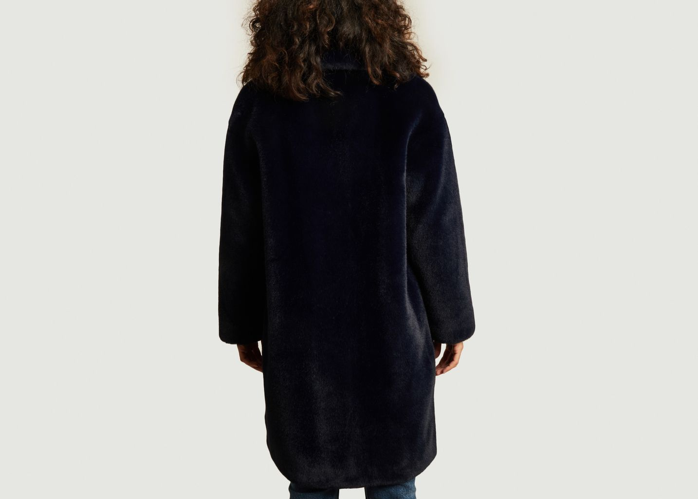Manteau effet fourrure Camille Cocoon - Stand Studio