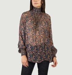 Ica Floral Printed Blouse