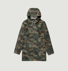 Imperméable Stockholm Green Camo