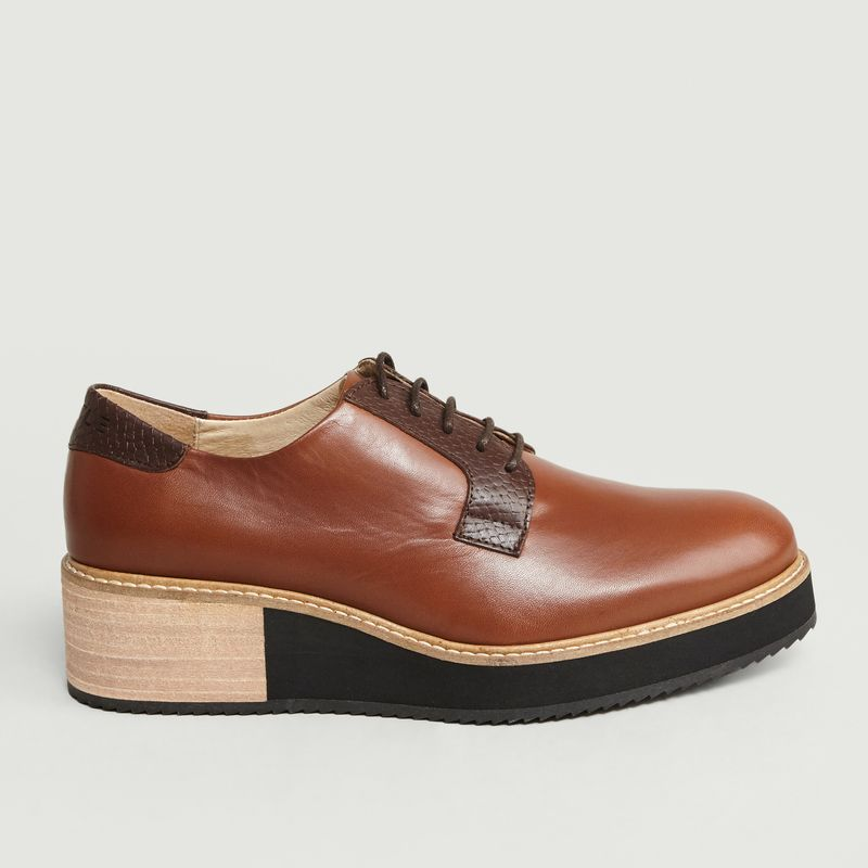 Derbies Compensées Alpha High - Subtle