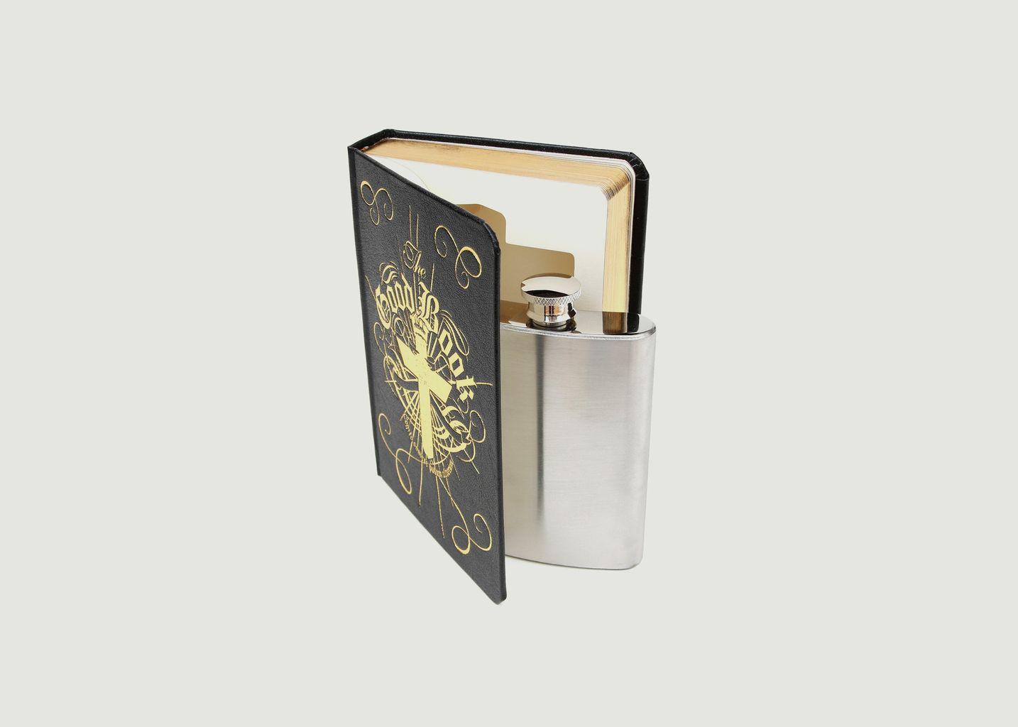 Flacon dans un livre - Suck UK