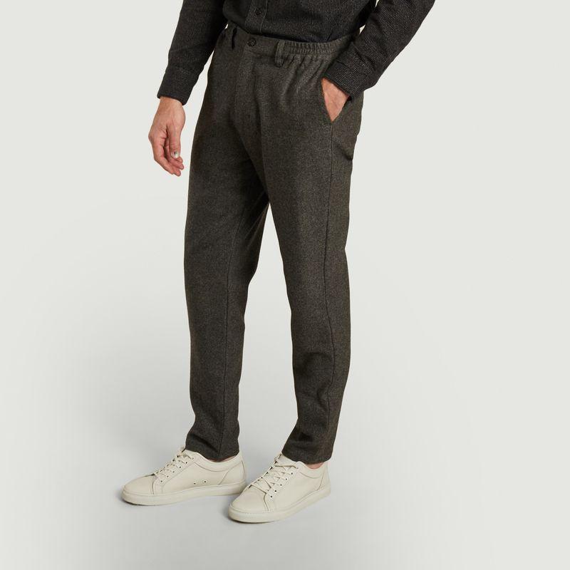 Pantalon droit en lainage Gilbert - SUIT