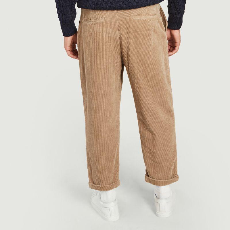 Pantalon loose en velours côtelé Toby - SUIT