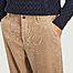 matière Pantalon loose en velours côtelé Toby - SUIT