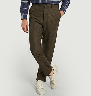 Pantalon formel en lainage Nate