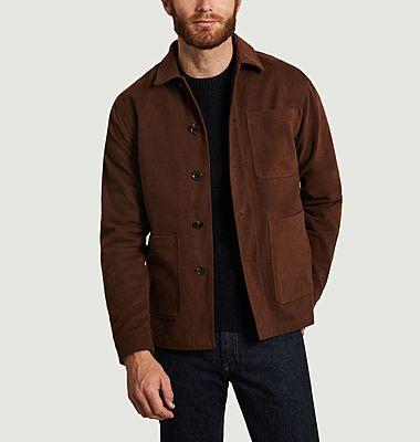 Jacke mit vier Knöpfen aus Baumwolle