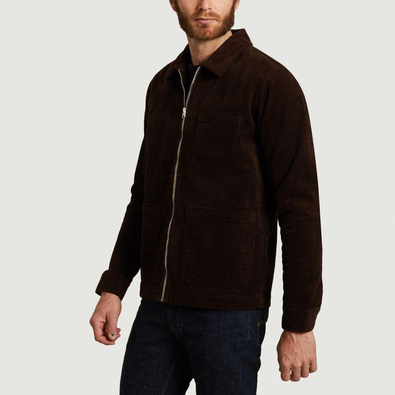 Veste zippée en velours côtelé Matt - SUIT