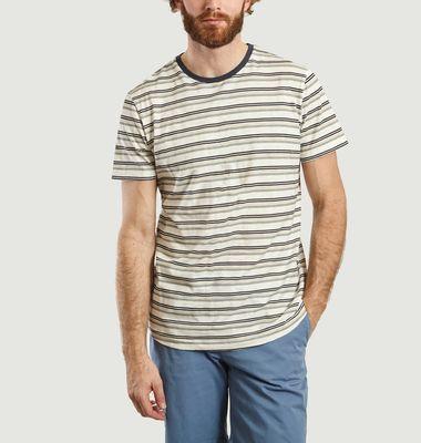 T-Shirt Rayé En Coton Bio Ben