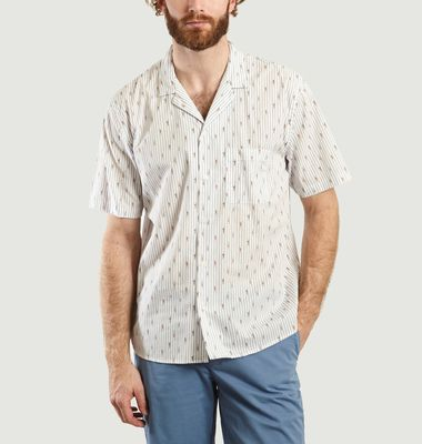 Elliot Short Sleeves Shirt With Characters Pattern