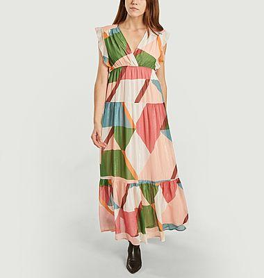 Robe longue Cassidy Bois de Rose