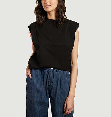 T-shirt sans manche en coton Memphis