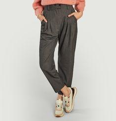 Pantalon formel à pinces 7/8e Just