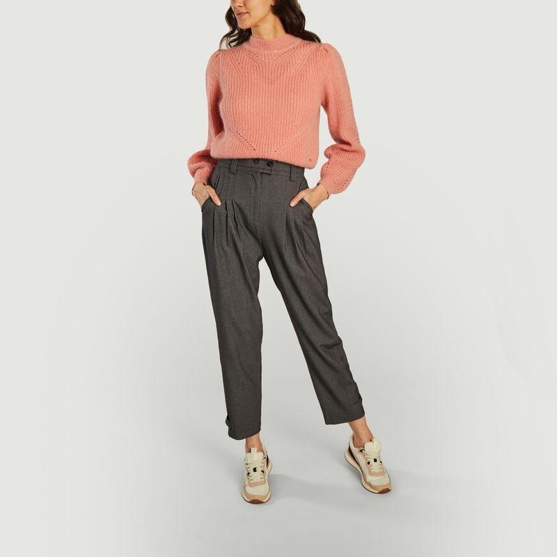 Pantalon formel à pinces 7/8e Just - Suncoo