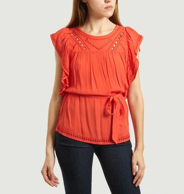 Lany belted blouse