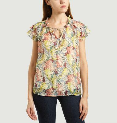 Luca floral pattern blouse