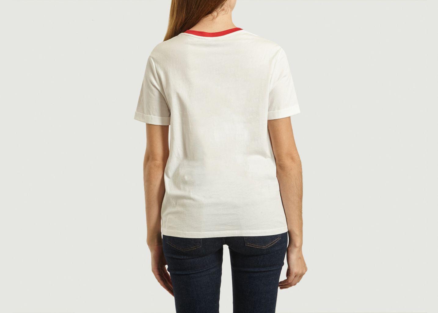 T-Shirt Avec Lettrage Marty - Suncoo