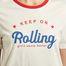 matière T-Shirt Avec Lettrage Marty - Suncoo
