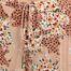 matière Pantalon ample motif fleuri et panthère Jerry - Suncoo