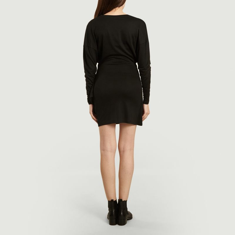 Robe Cassis Noire - Suncoo