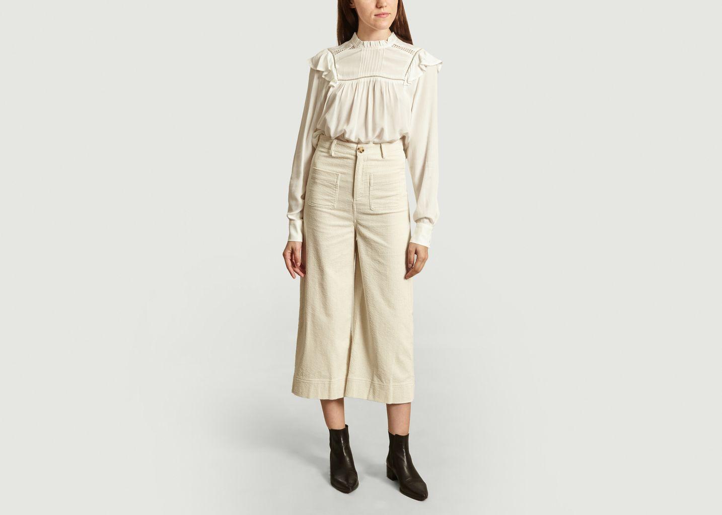 Pantalon Jude en velours côtelé - Suncoo