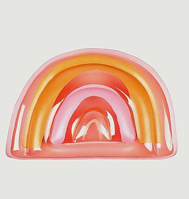 Bouée gonflable arc-en-ciel