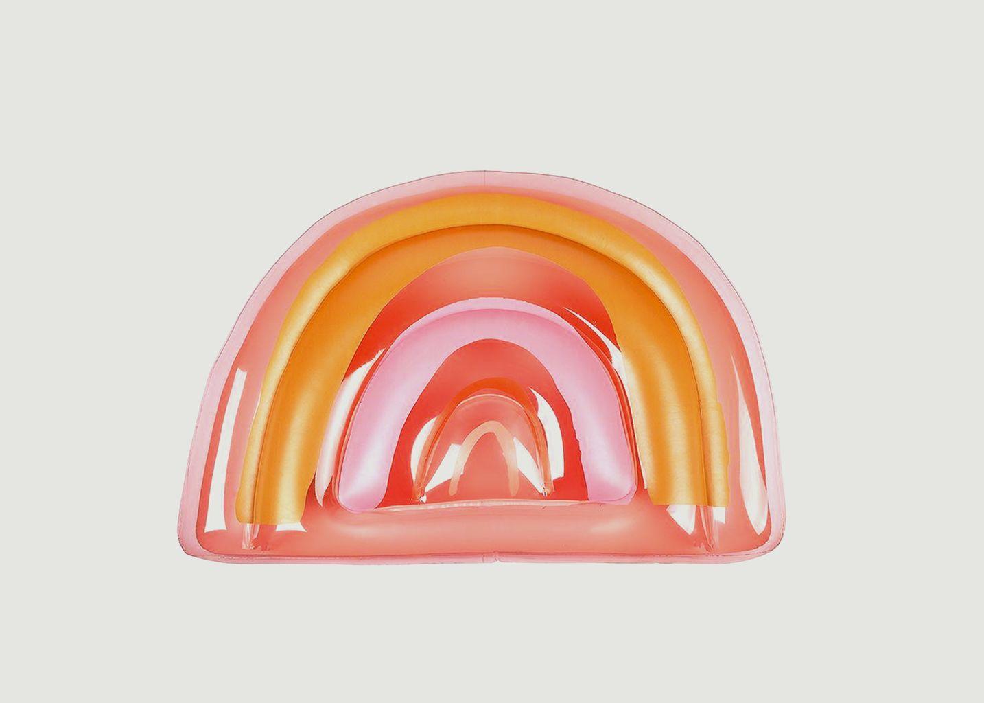 Bouée gonflable arc-en-ciel  - Sunny Life