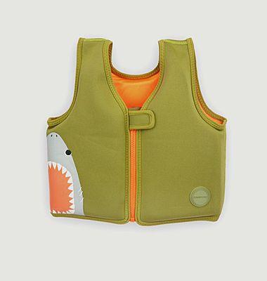 Veste de piscine pour enfants shark attack