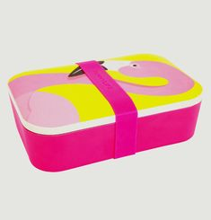 Lunch Box Eco Flamingo