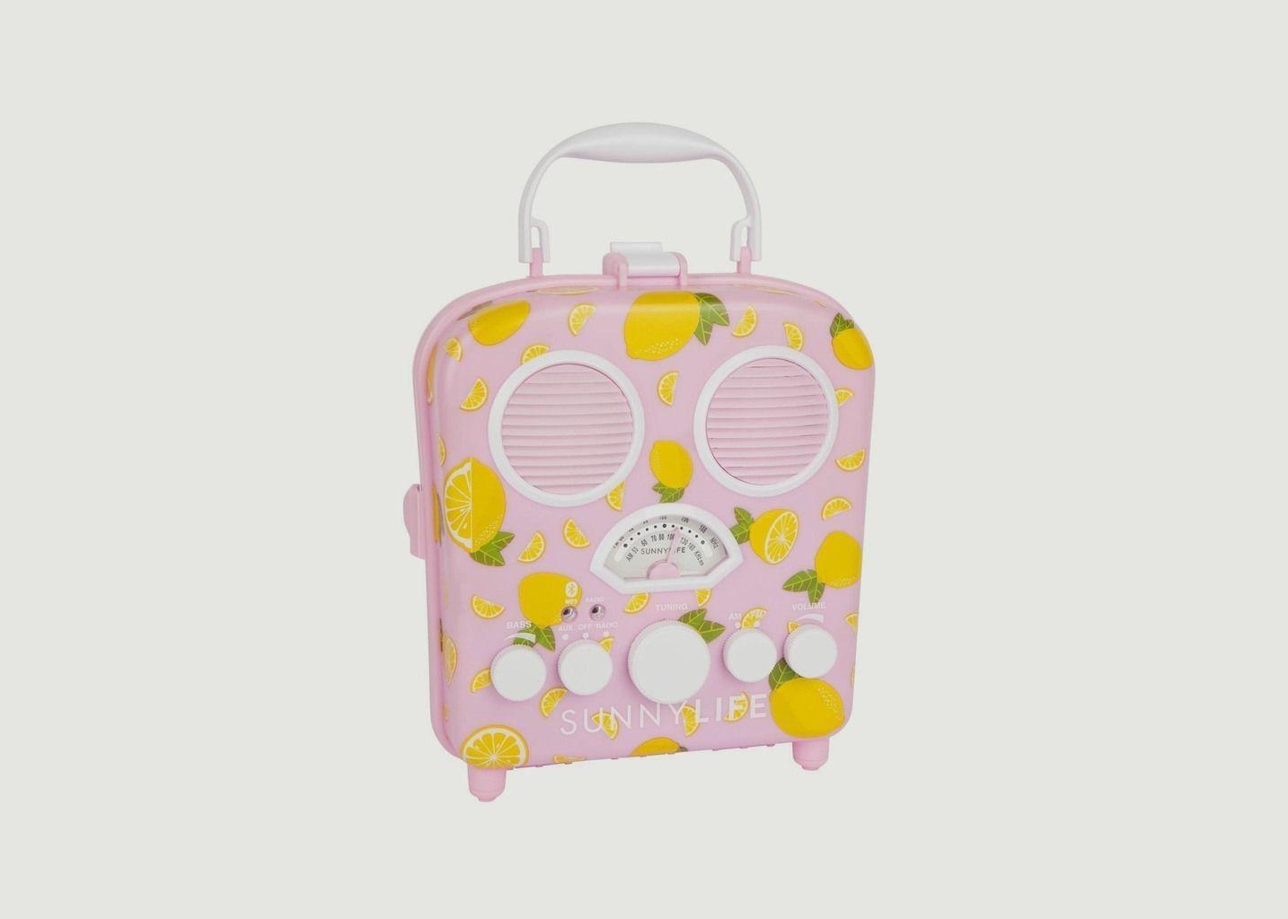 Enceinte Portable Citrons - Sunny Life