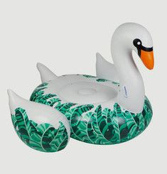 Banana Leaf Swan Pool Float