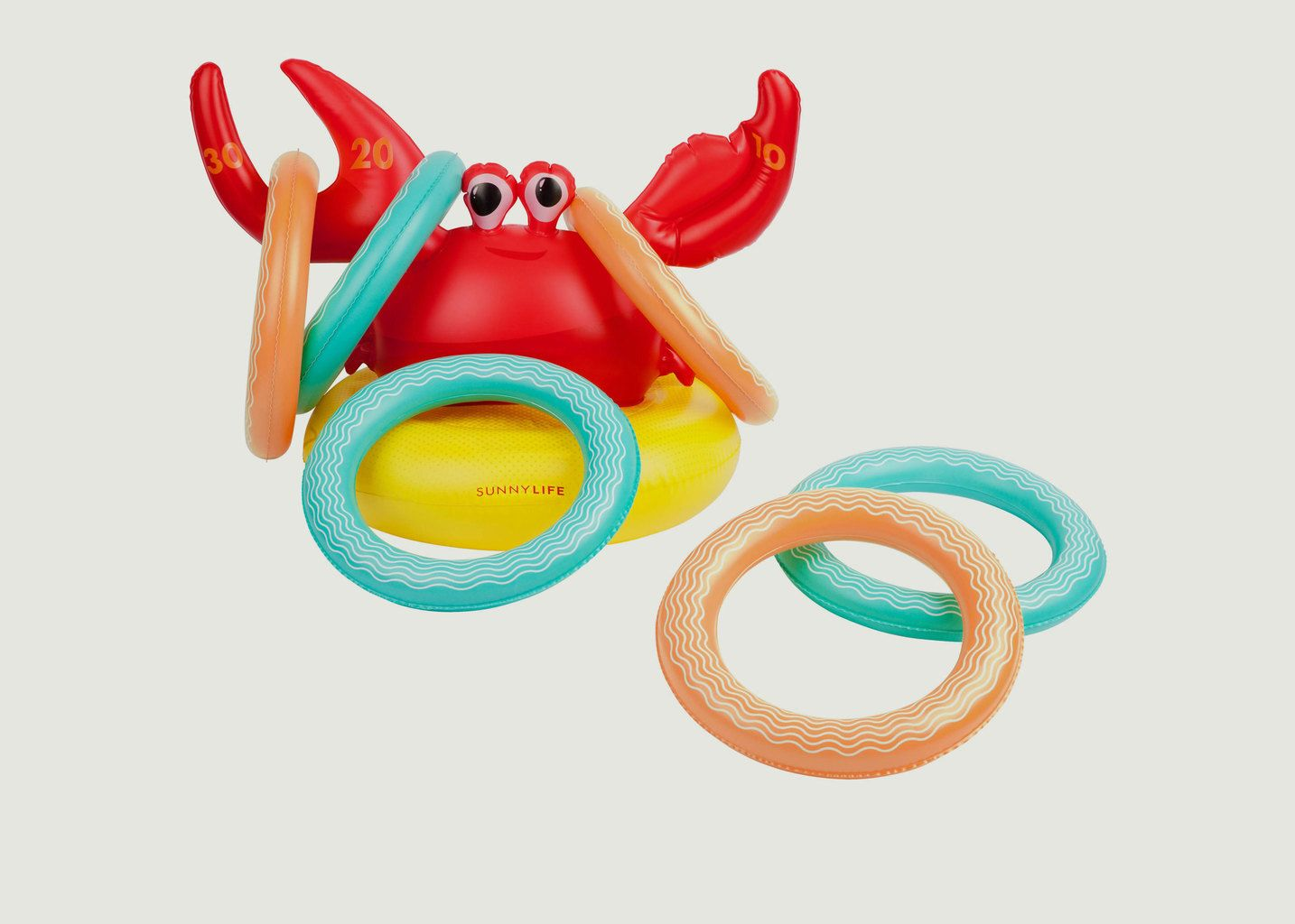 Jeu de Plage Crabe Gonflable - Sunny Life
