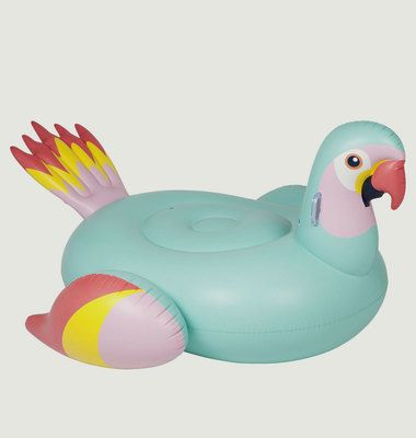 Parrot Giant Inflatable Pool Float
