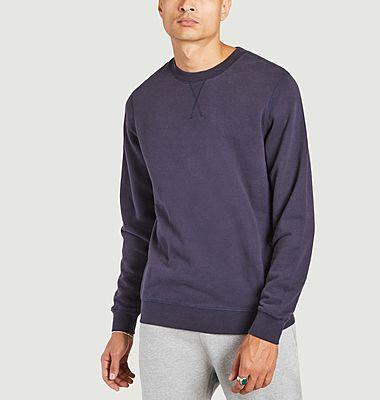 Sweatshirt en coton coupe droite
