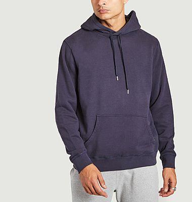 Cotton straight cut hoodie