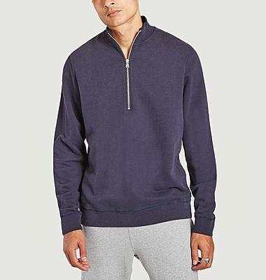 Sweatshirt col camionneur en coton