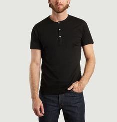 T-Shirt Henley en Coton Biologique