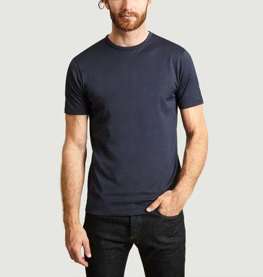 T-Shirt Uni En Coton Pima