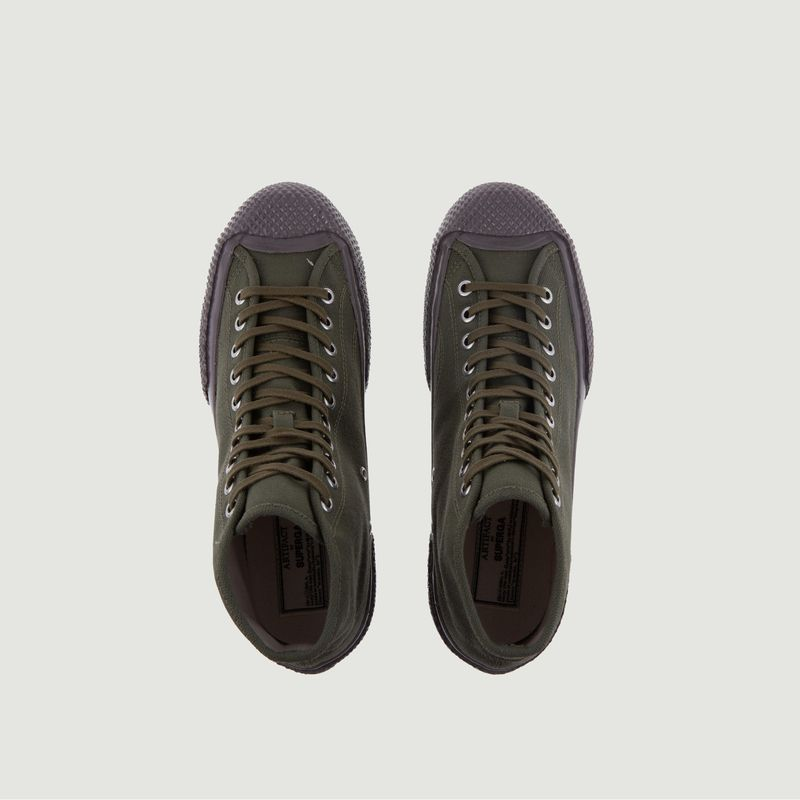 Sneakers montantes en toile japonaise 2435 Mil Spec - Superga