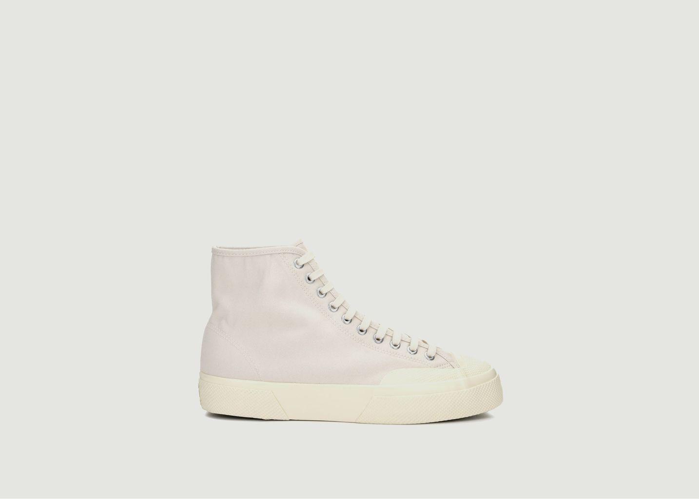 Sneakers montantes en toile Moleskin 2433-W - Superga