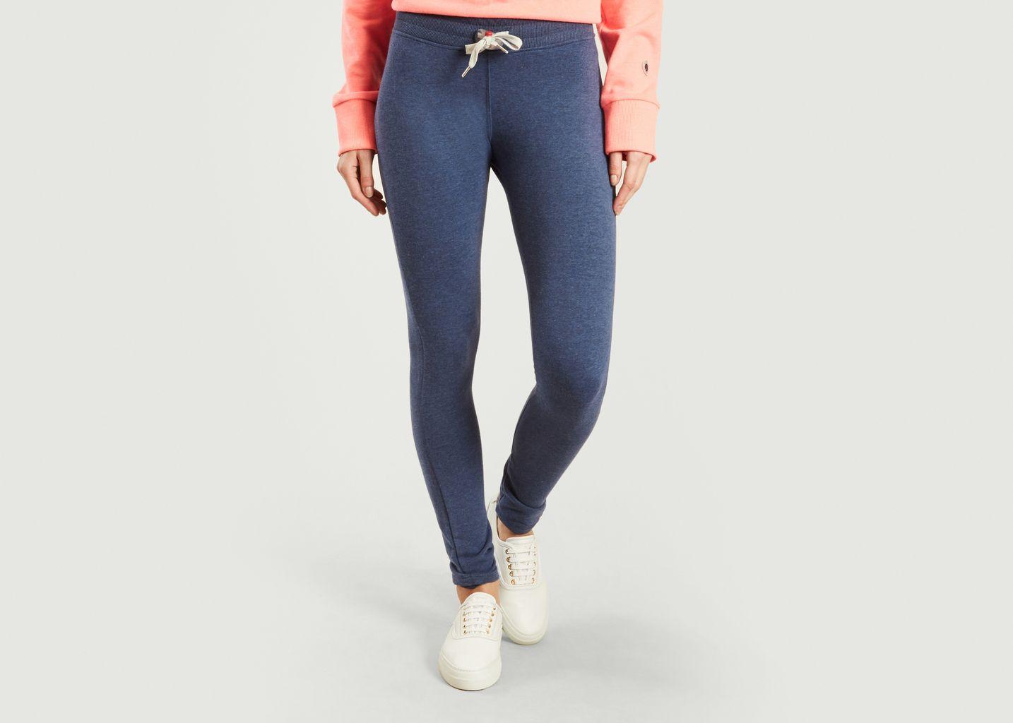 Jogging Skinny Marl Bleu Marine Sweet Pants  fb9d7c4fe2e