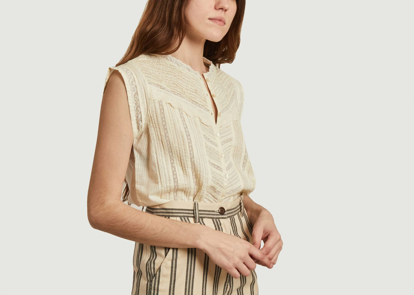 Chemise sans manches Dili - Swildens