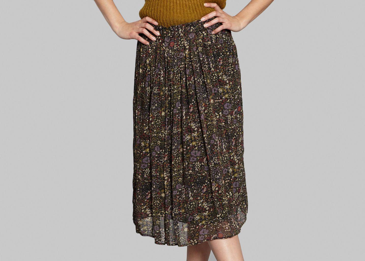 Floral Mid Skirt - Swildens